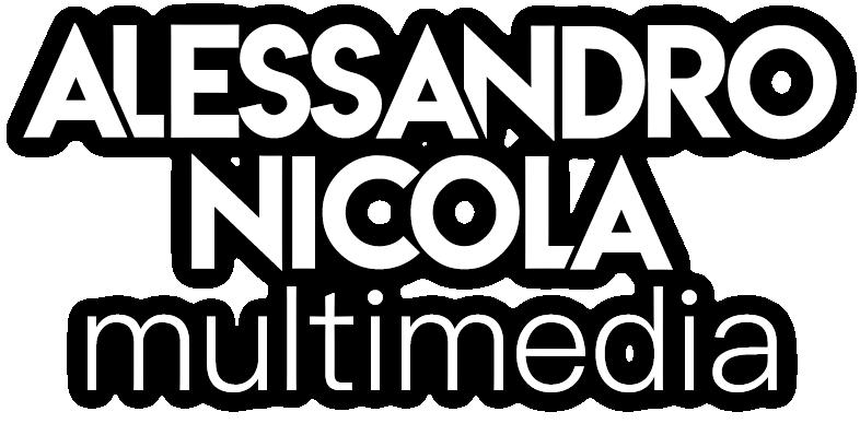 Alessandro Nicola Multimedia Logo